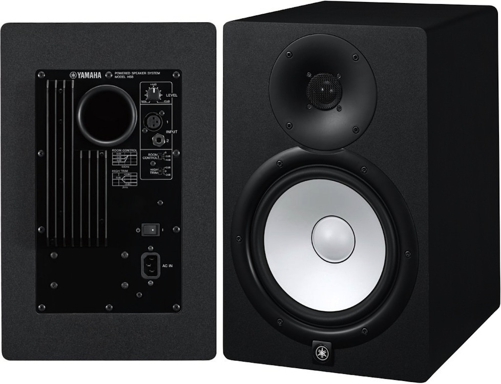 yamaha hs8 studio monitors. Black Bedroom Furniture Sets. Home Design Ideas