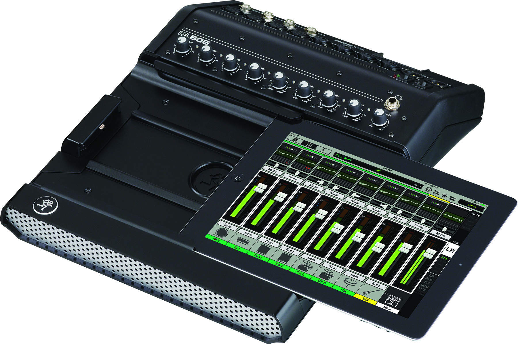 mackie dl806 8 channel digital live mixer. Black Bedroom Furniture Sets. Home Design Ideas
