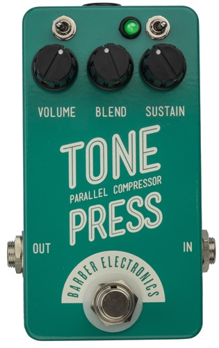 Barber Tone Press Guitar Compressor Pedal