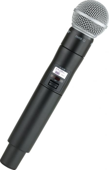 shure ulxd24 sm58 wireless handheld microphone system. Black Bedroom Furniture Sets. Home Design Ideas