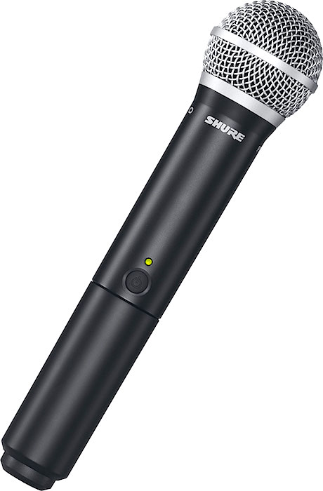 on Shure Dual Wireless Microphone System