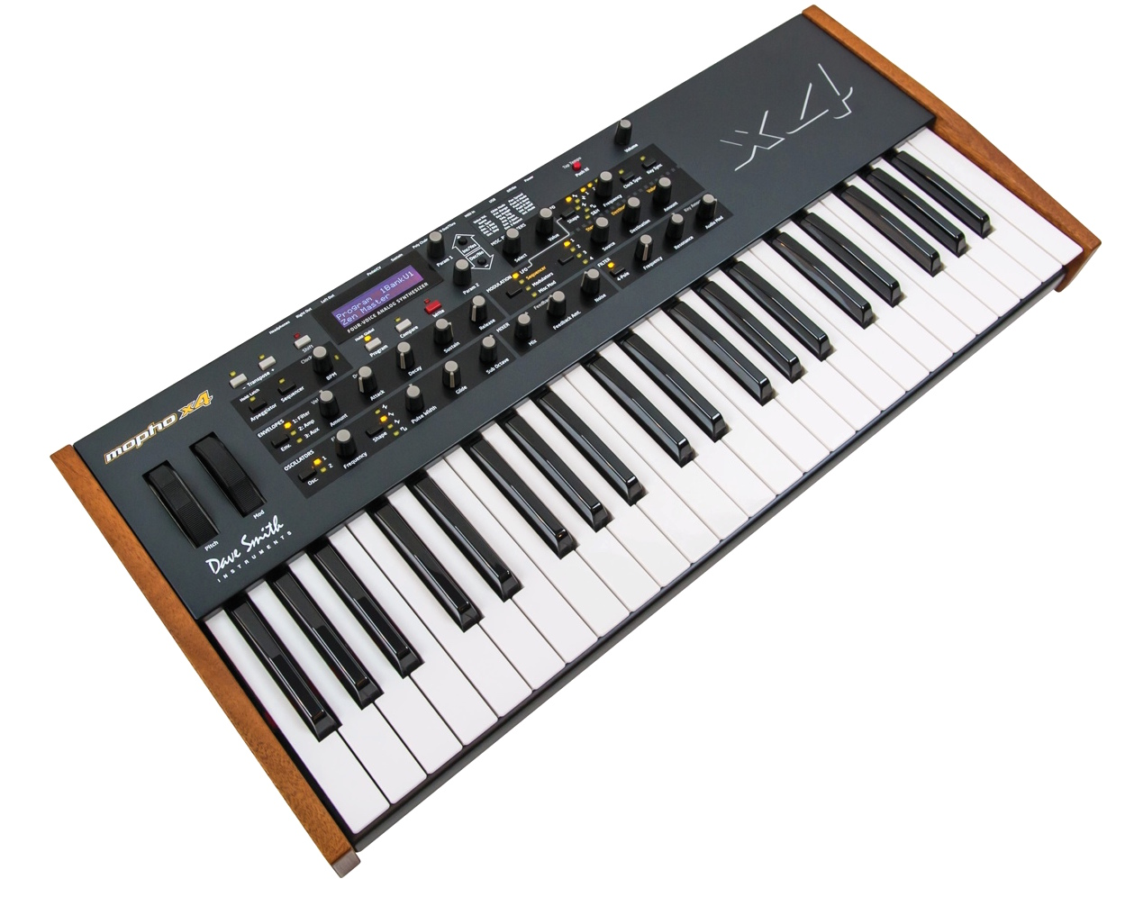 dave smith instruments mopho x4 polyphonic analog synthesizer. Black Bedroom Furniture Sets. Home Design Ideas