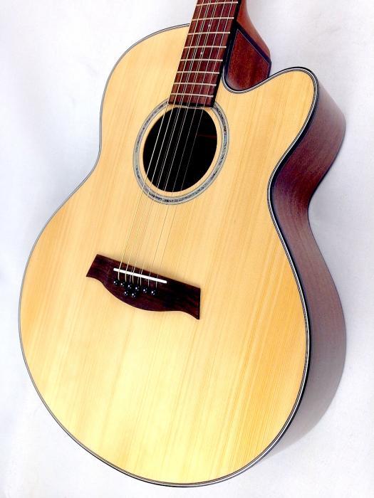 ibanez ael108md 8 string acoustic electric guitar. Black Bedroom Furniture Sets. Home Design Ideas