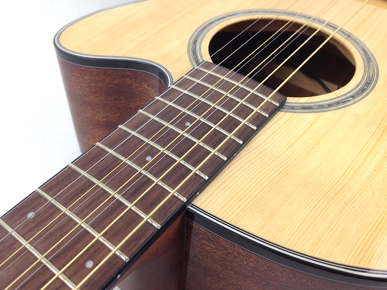 ibanez ael108md 8 string acoustic electric guitar. Black Bedroom Furniture Sets. Home Design Ideas