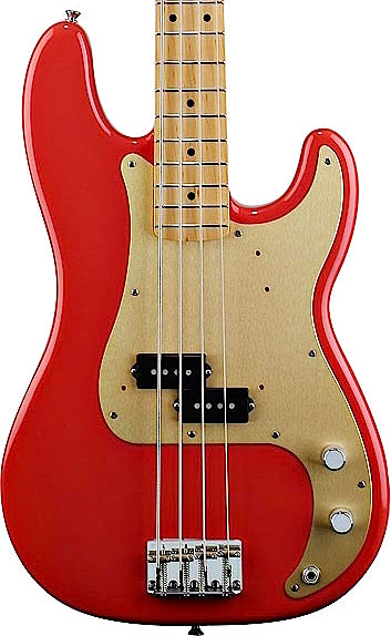 fender classic series 50s precision bass fiesta red. Black Bedroom Furniture Sets. Home Design Ideas