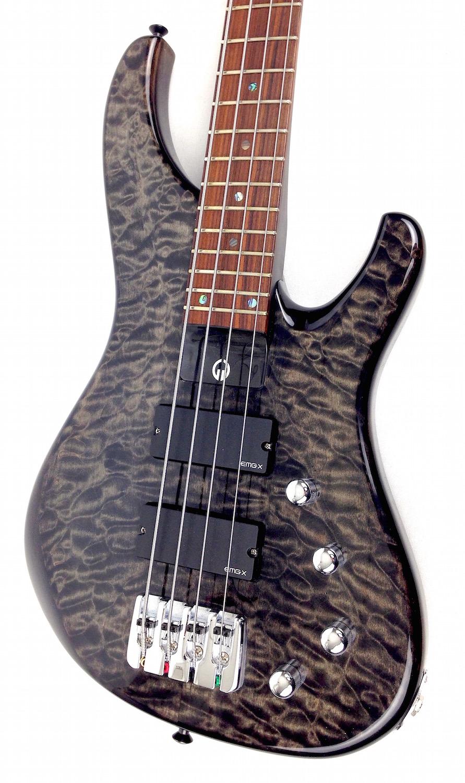 g gould ggi4 4 string electric bass trans black. Black Bedroom Furniture Sets. Home Design Ideas