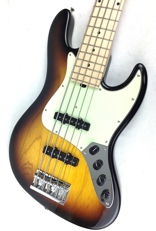 Sadowsky Metroline Mv5 5 String Bass Sunburst Maple