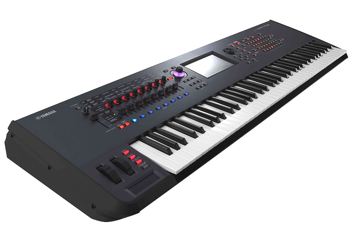 yamaha montage 7 dual engine synthesizer. Black Bedroom Furniture Sets. Home Design Ideas