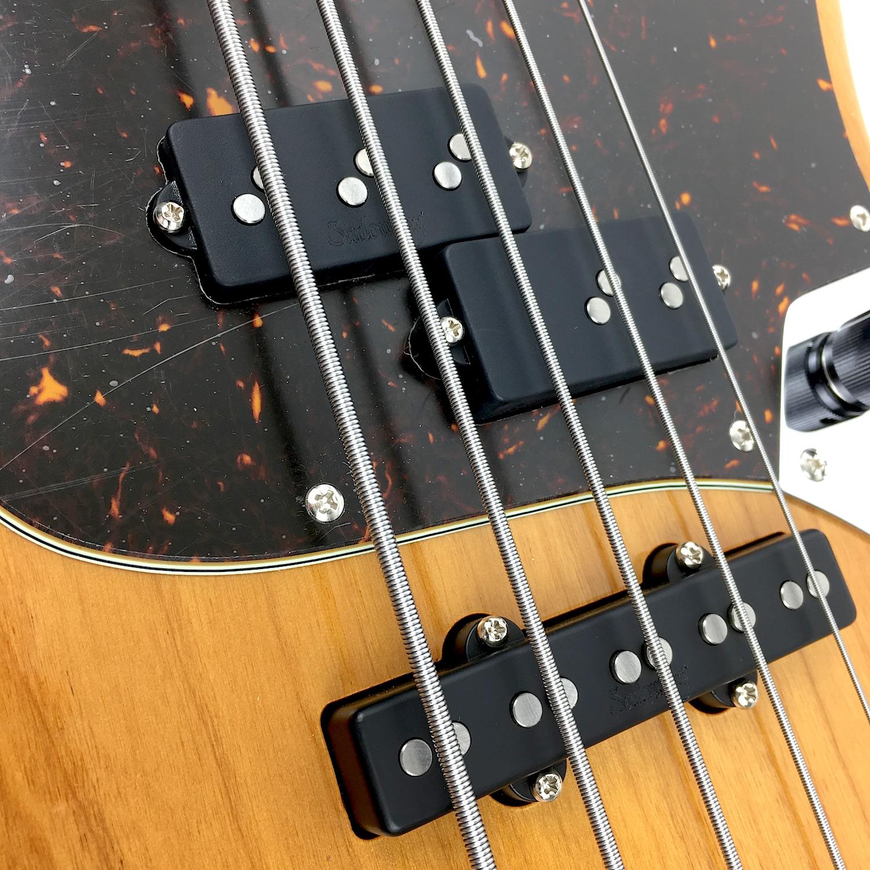 Sadowsky Metroline Rv 5 P J Bass Caramel Rosewood