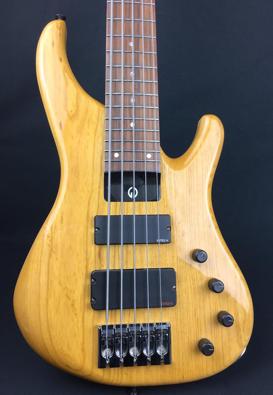 G Gould Ggi5 5 String Bass Natural Swamp Ash